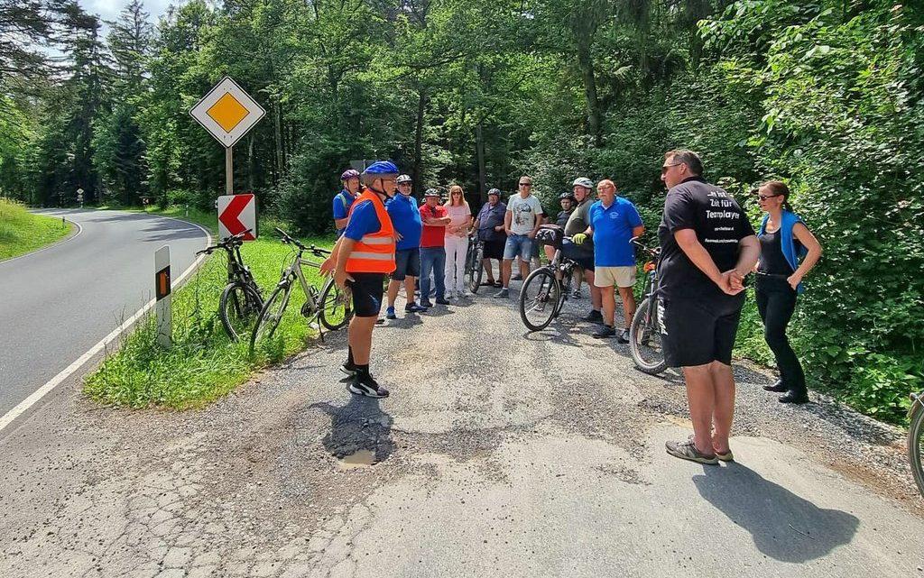 Radtour durch Weidhausen